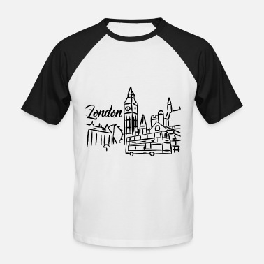 England Souvenir London! England! Souvenir! gift - Men's Baseball T-Shirt