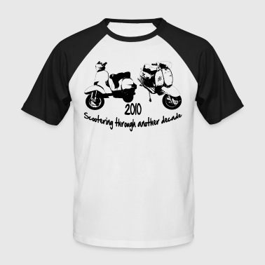 scootering through - Men's Baseball T-Shirt