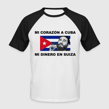 Fidel Castro - T-shirt baseball manches courtes Homme