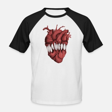 Bizarre Bizarre Heart - Men's Baseball T-Shirt