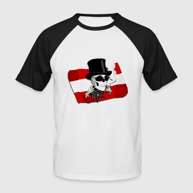 Fanshirt Austria - Men's Baseball T-Shirt