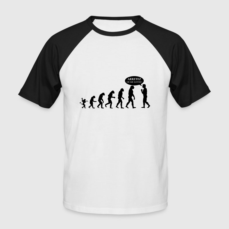 evolution fun - T-shirt baseball manches courtes Homme