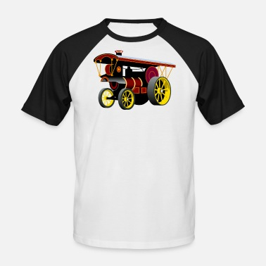 Traction Engine Traction Engine - Men's Baseball T-Shirt