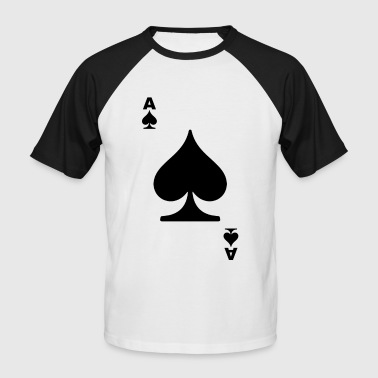 poker card - T-shirt baseball manches courtes Homme