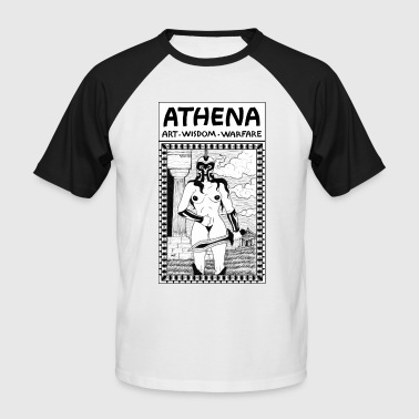 Athena. Art, Wisdom and Warfare - Men's Baseball T-Shirt