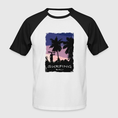 Bali - Indonesia - Beach - Surfing - Surfer - Männer Baseball-T-Shirt