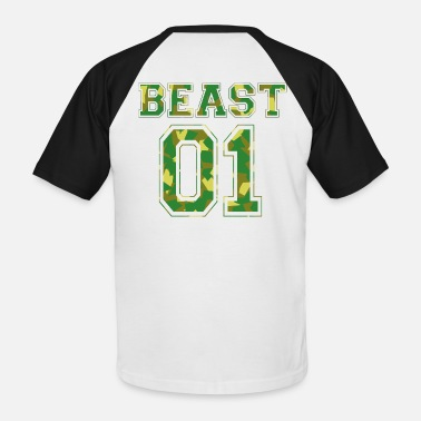 Beast Mode BEAST 01 - Camo Edition - Men's Baseball T-Shirt
