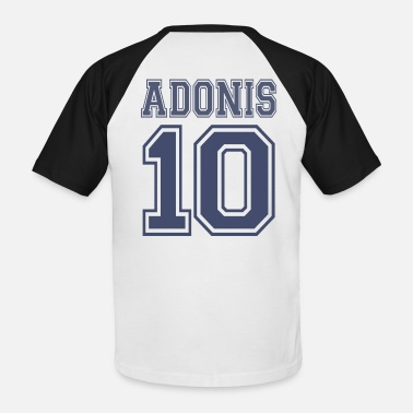 Adonis ADONIS 10 + FRAUDONIS 20 PARTNERSHIRT - Men's Baseball T-Shirt