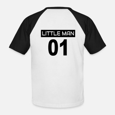 Little Man Part 2: Big Man 01 + Little Man 01 / siblings - Men's Baseball T-Shirt