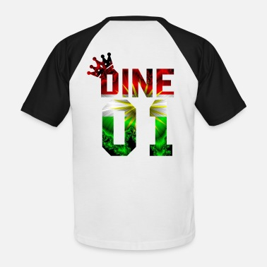 Dine Dine - Men's Baseball T-Shirt