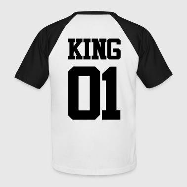 KING 01 - Männer Baseball-T-Shirt