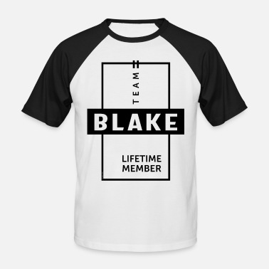 Blake Blake Personalized Name Birthday Gift - Men's Baseball T-Shirt