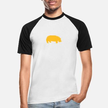 Hippo hippo - Men's Baseball T-Shirt