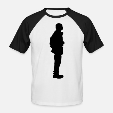 Standing The stand - Men's Baseball T-Shirt