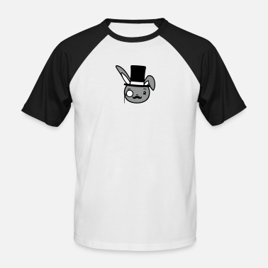 Monocle Sir, monocle, sunglasses, sir, monocle, sunglasses - Men's Baseball T-Shirt