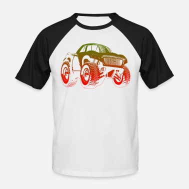 Autocross Autocross - Baseball T-skjorte for menn