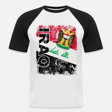 Irak Fussball Fanshirt Fan Shirt Tshirt Fanartikel Artikel M/änner Herren Ringer T-Shirts