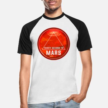 Cosmology Thirty second to mars - Men's Baseball T-Shirt