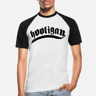 Football Hooligan hooligans football - Men's Baseball T-Shirt