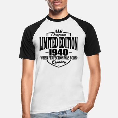 1940 Limited edition 1940 - Baseball T-shirt mænd