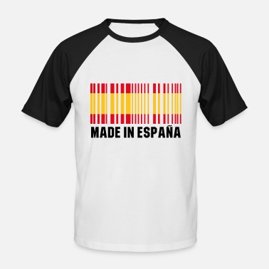 Spain Made in Espana Spain gift - Koszulka bejsbolowa męska