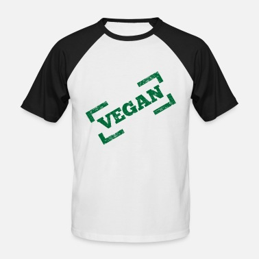 Meatless Vegan Meatless Healthy Gift - Baseball T-skjorte for menn