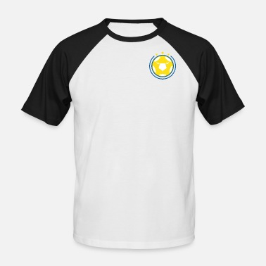 Leeds Leeds UnitedFC Theme - Men's Baseball T-Shirt