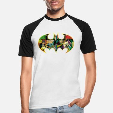 Joker Batman Logo Comic T-shirt tonåring - Baseball T-shirt herr