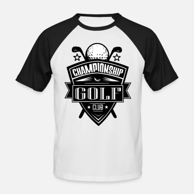logo golf club - Men's Baseball T-Shirt