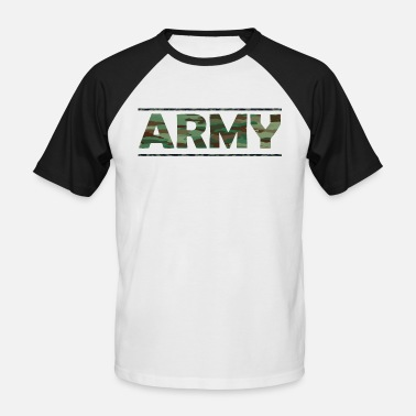 Army Reserve ARMY / Army / Bundeswehr / Camouflage - Baseball T-shirt herr