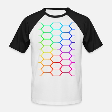 Honeycomb The honeycomb - Men's Baseball T-Shirt