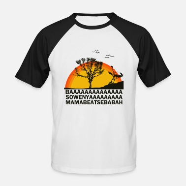 Movie AFRICAN MOVIE - Afrikanischer FIlm - Männer Baseball T-Shirt