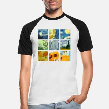 Vanoss Van Art Gogh Graphic - Men's Baseball T-Shirt
