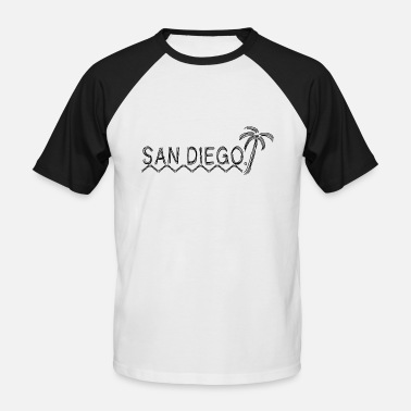 Diego San Diego - Men's Baseball T-Shirt