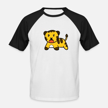 Little tiger - Men's Baseball T-Shirt
