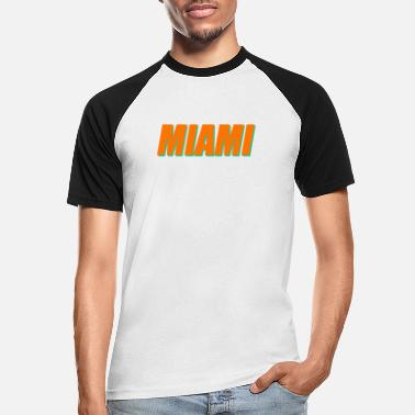 Miami Dolphins Miami Dolphins Football - T-shirt baseball Homme