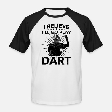 League Game Darts, Bar, League Game, Men's Night, Marriage Club, Fun - Men's Baseball T-Shirt