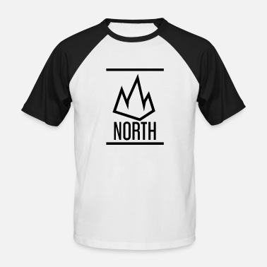 North Yorkshire North - Männer Baseball T-Shirt