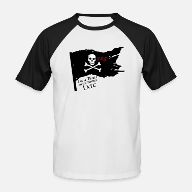 Pirate Party Modern Pirates, for parties - Men's Baseball T-Shirt
