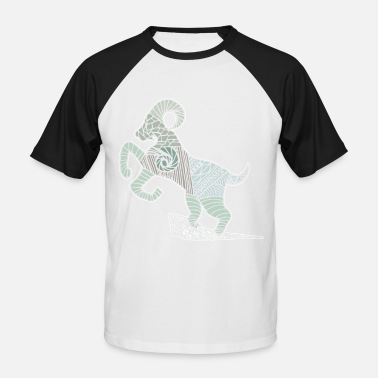 Capricorne Capricorne Capricorne - T-shirt baseball Homme