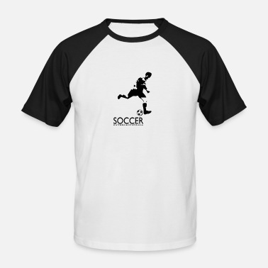 International Soccer International - Baseball T-skjorte for menn