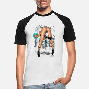 Sexy fantasy girl - Männer Baseball T-Shirt