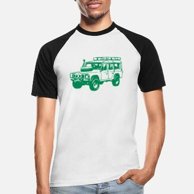Land Land Rover Defender, Jeep, SUV - Men's Baseball T-Shirt