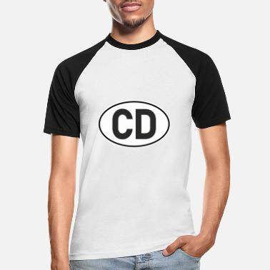 Cd CD | diplomatic - Men's Baseball T-Shirt