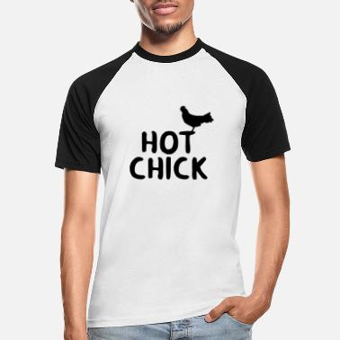 Chicks CHICK CHICK - T-shirt baseball Homme