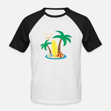Holiday Island Holiday Island Design - Men's Baseball T-Shirt