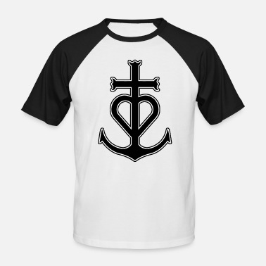 Cross - Men's Baseball T-Shirt