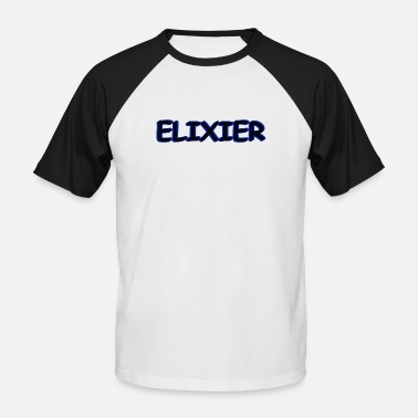 Elixir elixir - Men's Baseball T-Shirt