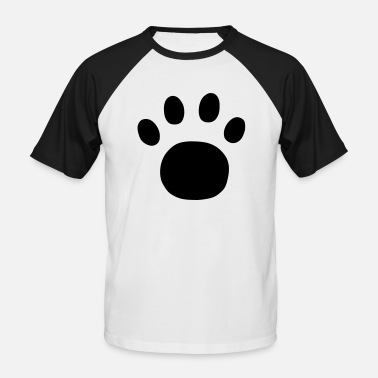 Plot Printing Paw Print - Men's Baseball T-Shirt