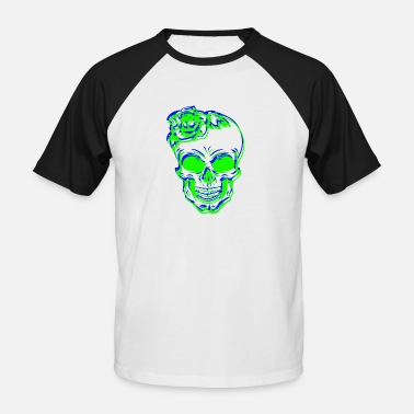 Skull Shirt Skull Skull - Men's Baseball T-Shirt